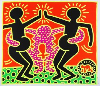 Keith Haring-Keith Haring - Ohne Titel-1983