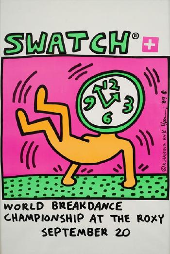 Keith Haring-Keith Haring - Swatch-1984