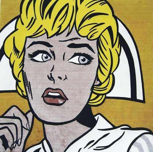 Roy Lichtenstein-Nurse-