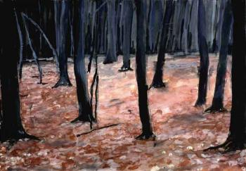 Anselm Kiefer-Wald (Forest)-1974