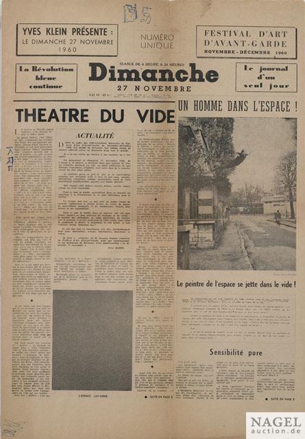 Yves Klein-Dimanche-1960