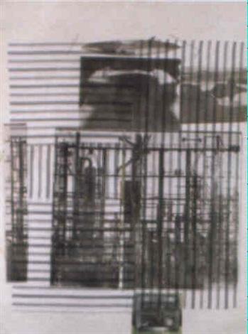 Robert Rauschenberg-Robert Rauschenberg - BRANCH 8642 I-1978