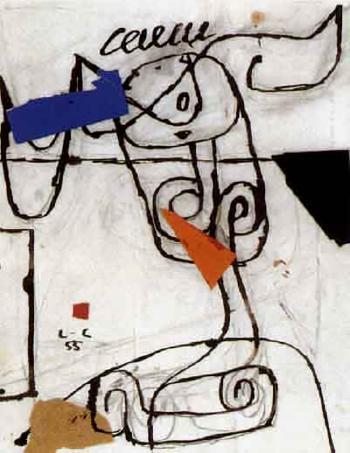 Le Corbusier-Komposition-1955