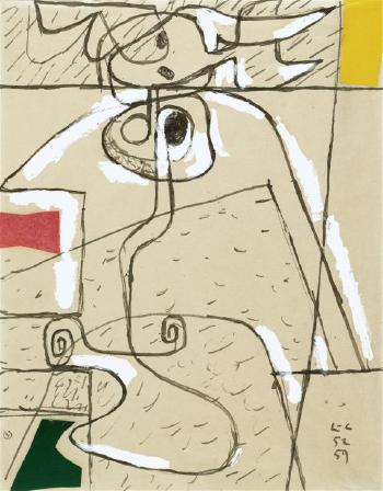 Le Corbusier-Figurenkomposition-1959