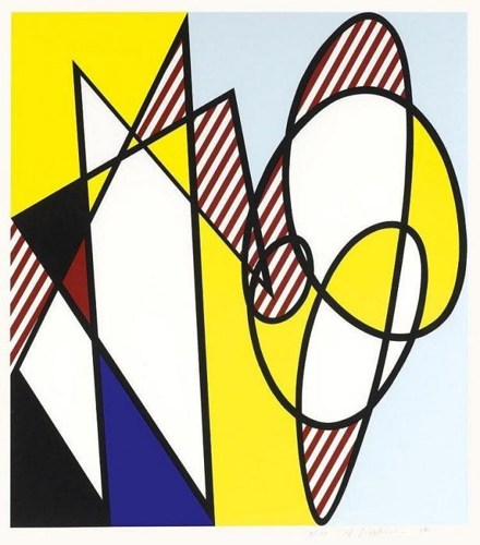 Roy Lichtenstein-Best Buddies-1991