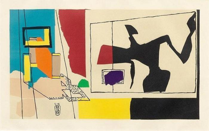 Le Corbusier-Femme a la fenetre-1958
