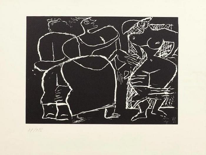 Le Corbusier-Trois femmes-1964
