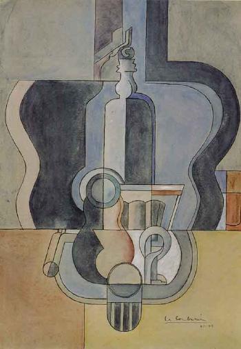 Le Corbusier-Nature morte au syphon-1949