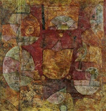 Paul Klee-Ein Magier Experimentierend-1939