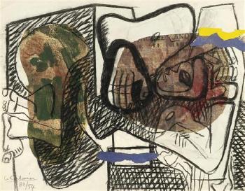 Le Corbusier-Komposition-1954