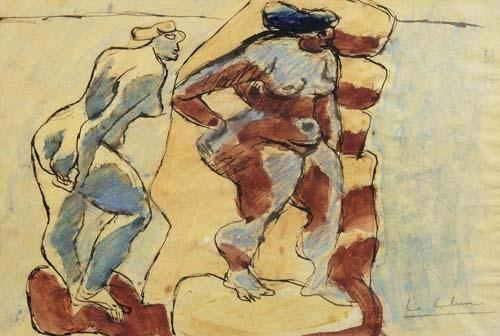 Le Corbusier-Two Nudes-