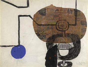Le Corbusier-Deux verres a pied-1954
