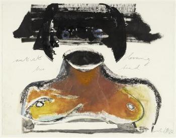 Marlene Dumas-Artist loosing her head-1987