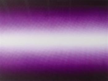 Anish Kapoor-Shadow III (Purple)-2009