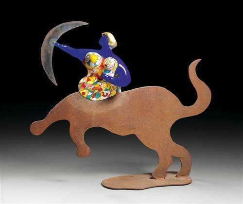 Niki de Saint Phalle-Saggitaire (Sternzeichen Schutze), (Sagittarius Vase)-1993