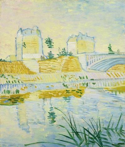 Vincent van Gogh-Pont de Clichy-1887