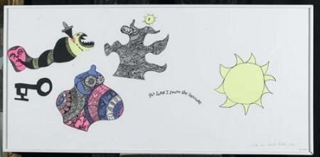 Niki de Saint Phalle-At last I found the Treasure-