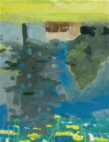 Alex Katz-Forest Cabin (Reflection)-2007