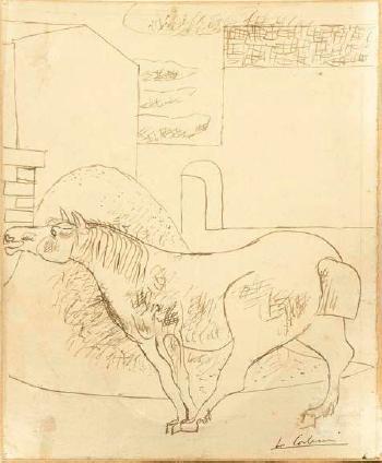 Le Corbusier-Pferd-