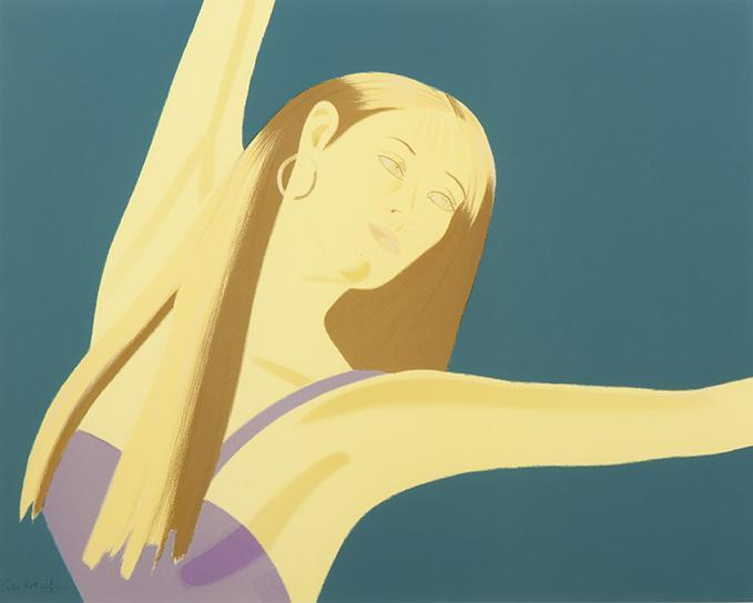 Alex Katz-Night: William Dunas Dance II / Pamela-1983