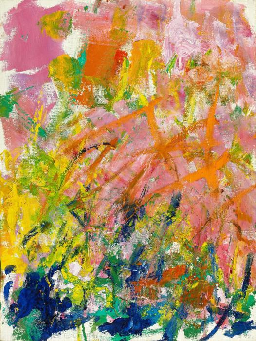 Joan Mitchell-Petit Matin-1982