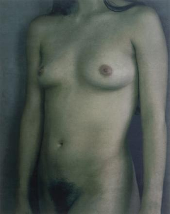 Annie Leibovitz-Mireille Radwan-Dana, Dancer, Mark Morris Dance Group, Clifton Point, Rhinebeck, New York (Nude #5)-1998