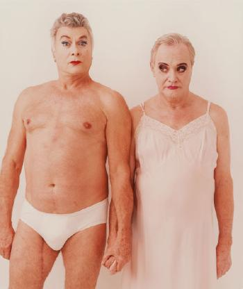 Annie Leibovitz-Tony Curtis and Jack Lemmon, Los Angeles-1995