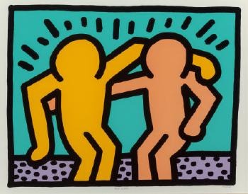 Keith Haring-Keith Haring - Best Buddies-1990