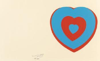 Marcel Duchamp-Coeurs Volants (Fluttering Hearts) (Arturo Schwarz 446 c)-1961