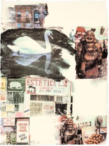 Robert Rauschenberg-Robert Rauschenberg - L.A. Uncovered # 7-1998