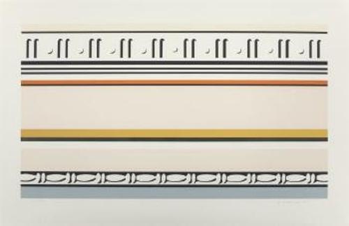 Roy Lichtenstein-Entablature VIII-1976