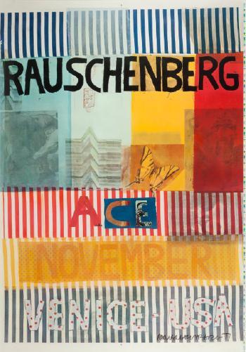 Robert Rauschenberg-Robert Rauschenberg - ACE-VENICE-USA-1977
