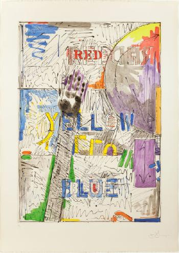 Jasper Johns-Lands End-
