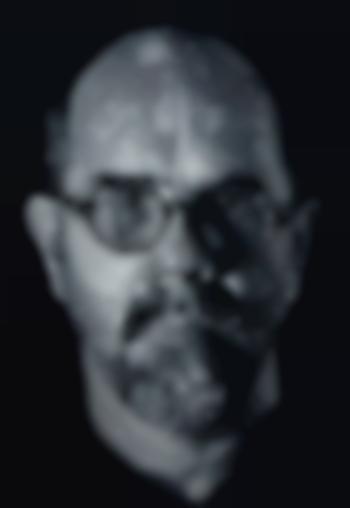 Chuck Close-Self-Portrait, Pulp-2001