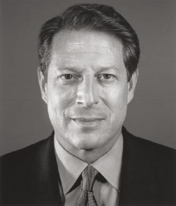 Chuck Close-Al Gore-2009