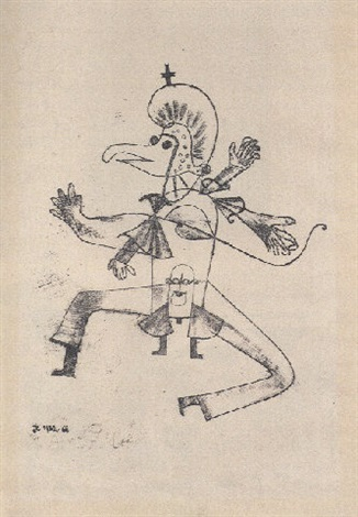 Paul Klee-Narretei (Buffoonery)-1922