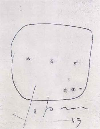 Lucio Fontana-Concetto spaziale-1959