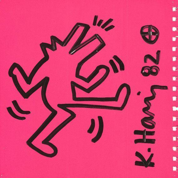 Keith Haring-Keith Haring - Dog barking-1982
