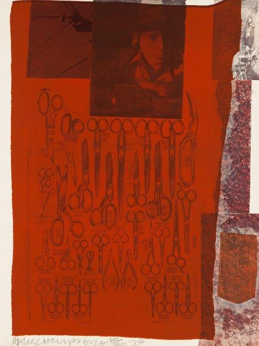 Robert Rauschenberg-Robert Rauschenberg - More Distant Visible Part Of The Sea-1979
