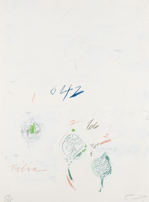 Cy Twombly-Natural History, Part II: Tilia Cordata-1975