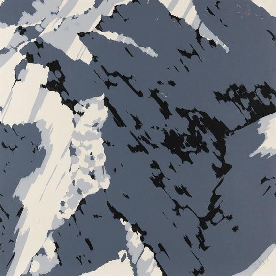 Gerhard Richter-Schweizer Alpen I A1, B1, B2 (Swiss Alps I A1, B1, B2)-1969