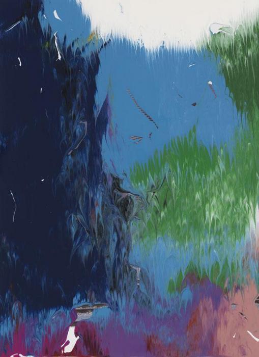 Gerhard Richter-Ohne Titel (8.5.08) / Untitled (8.5.08)-2008