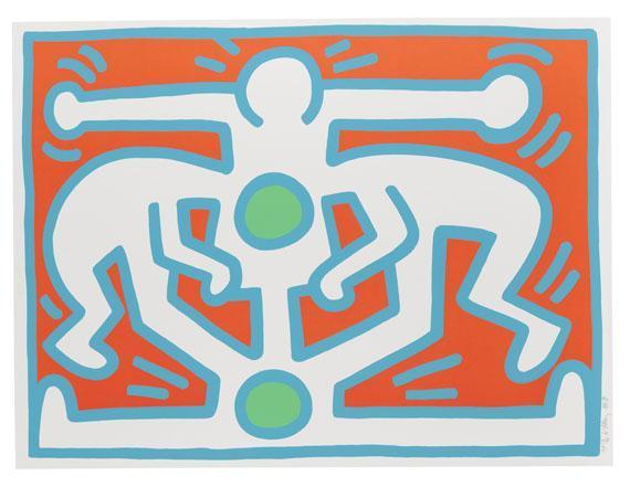 Keith Haring-Keith Haring - Growing-1988