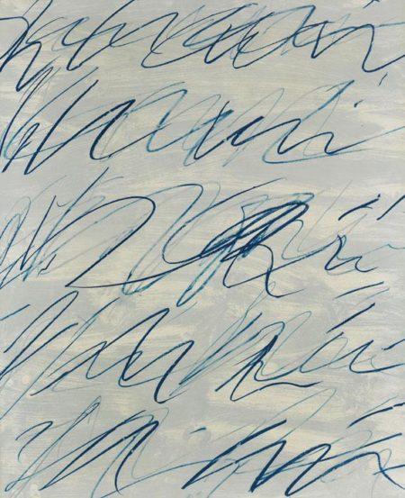 Cy Twombly-Roman Notes V-1970