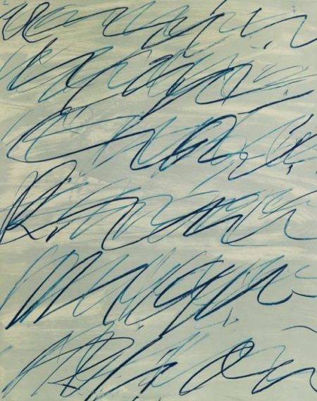 Cy Twombly-Roman Notes II-1970