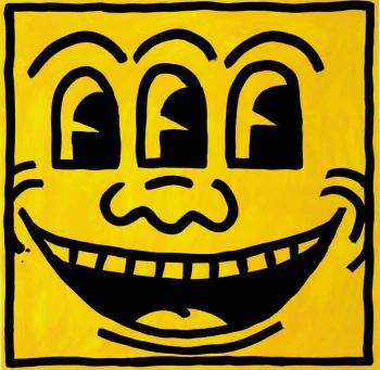 Keith Haring-Keith Haring - Face-1982