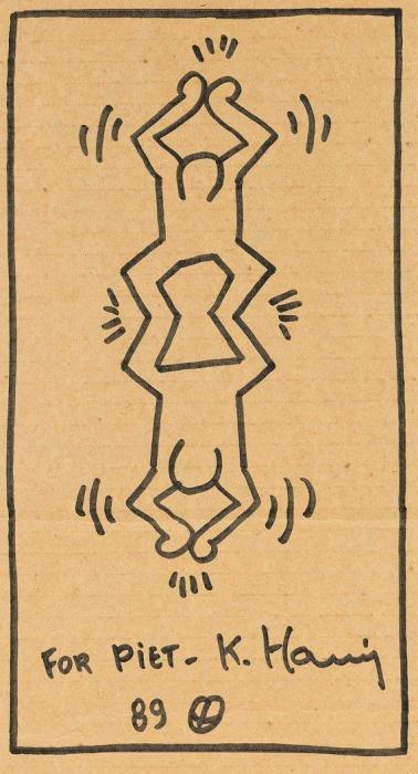 Keith Haring-Keith Haring - For Piet-1989