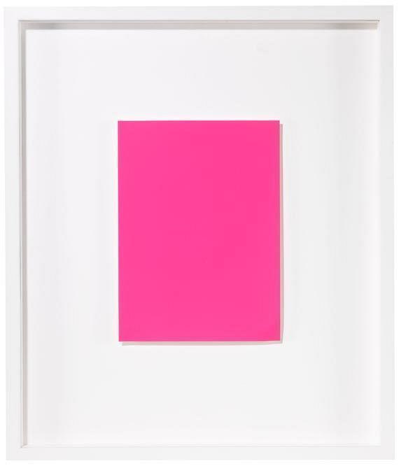 Yves Klein-Monochrome und Feuer (3-teilig)-1961