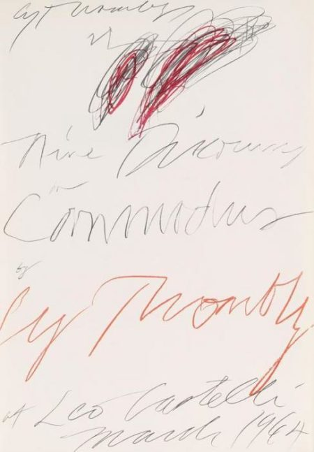 Cy Twombly-Ohne Titel-1964