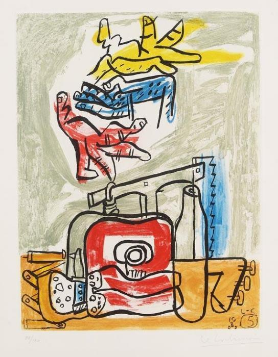 Le Corbusier-Aus: Unite 5-1965